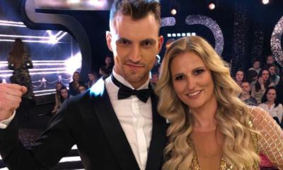 Dominika Tajner z parterem w programie Taniec z Gwiazdami.