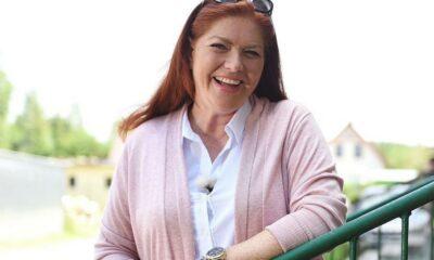 Katarzyna Dowbor w młodości