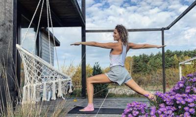 Gwiazdy które ćwiczą jogę
