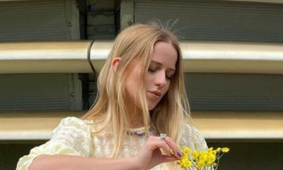 Jessica Mercedes w stylizacji z nowej kolekcji Reserved