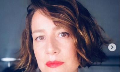 Maja Ostaszewska w nowej fryzurze