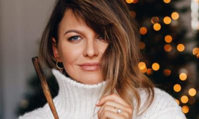 Ania Lewandowska ubrała choinkę