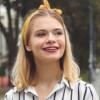Julia Wróblewska w nowej fryzurze