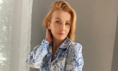 Szalona Katarzyna Zielińska tańczy