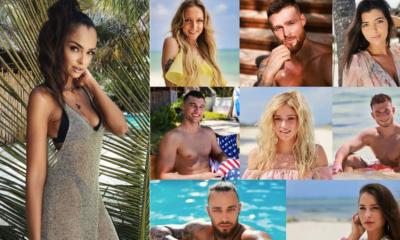 Klaudia el dursi kolaż zdjęć brunetka uczestnicy hotel paradise 3