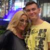 Dagmara Kaźmierska z synem Conanem.