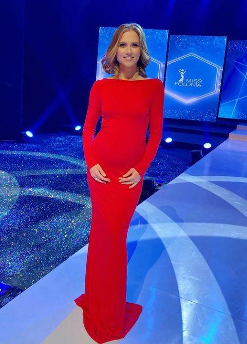 Kaczorowska podczas Miss Polonia 2020