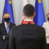 Robert Lewandowski odznaczony Krzyżem Orderu Odrodzenia Polski przez prezydenta.