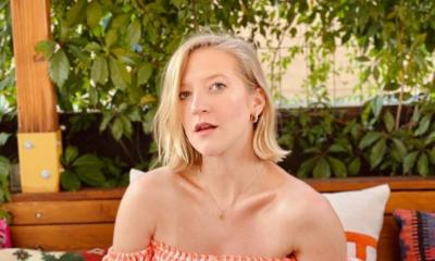 Lara Gessler na zakupach w second-handzie