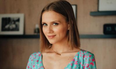 Agnieszka Kaczorowska pokazała ciążowy brzuszek w sukience Lorinii!