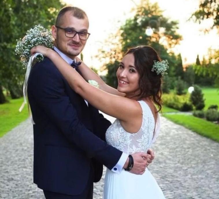 Laura i Maciek poznali się w dniu ślubu.