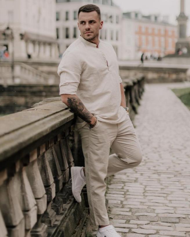 Krzysztof Świst z programu Hotel Paradise.