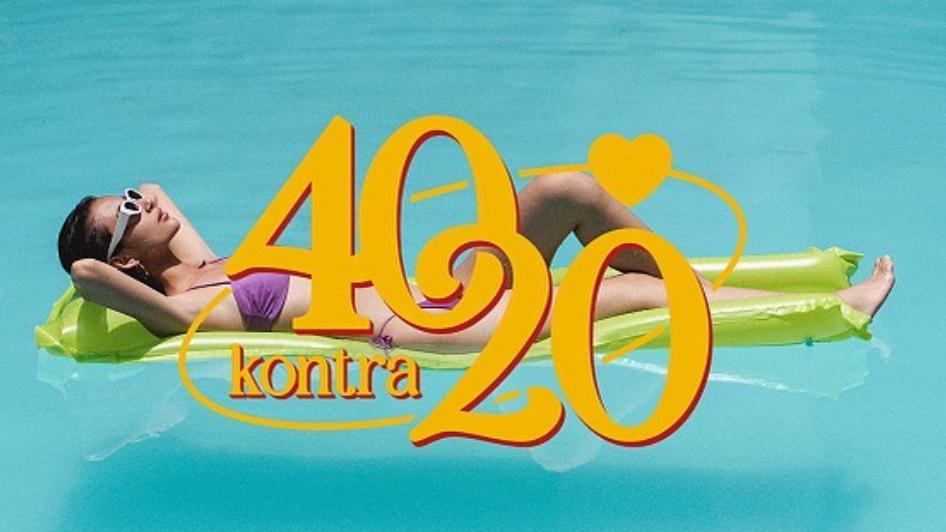 40 kontra 20.
