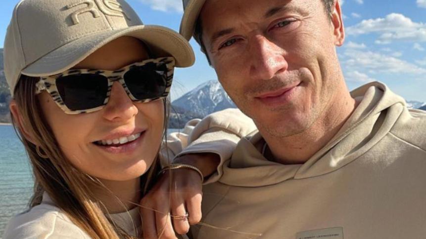 Lewandowska kibicuje mężowi na Euro 2020