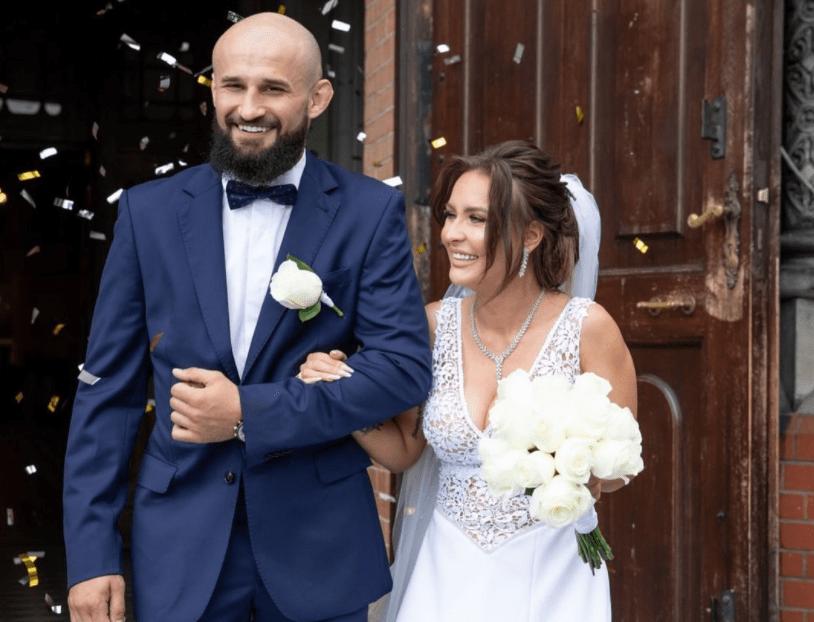 Ślubne zdjęcie Małej Ani z Warsaw Shore.