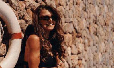 Ania Lewandowska w letniej kreacji marki Le Prive