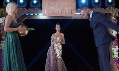 Krystian, Basia i Klaudia podczas finału Hotelu Paradise 3.