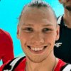 Kuba Kochanowski na treningu