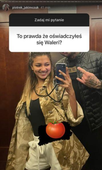 Waleria i Piotrek po programie