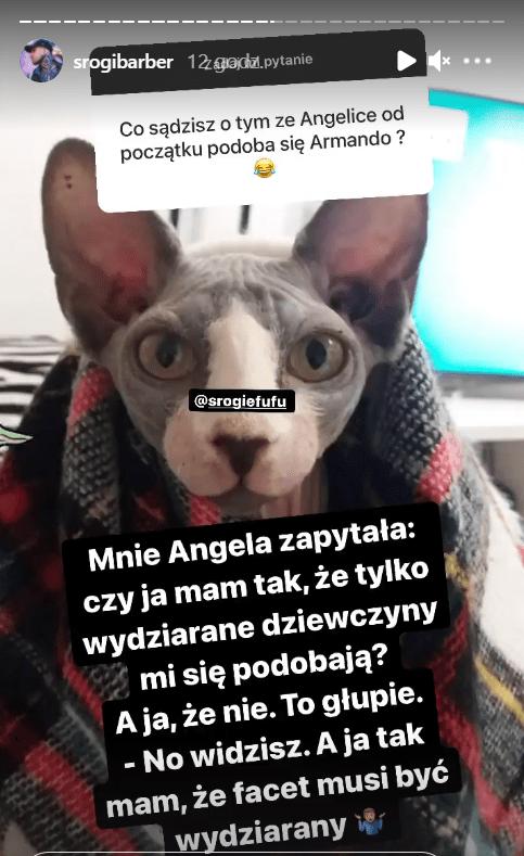 Instagram Bruna Świderskiego.