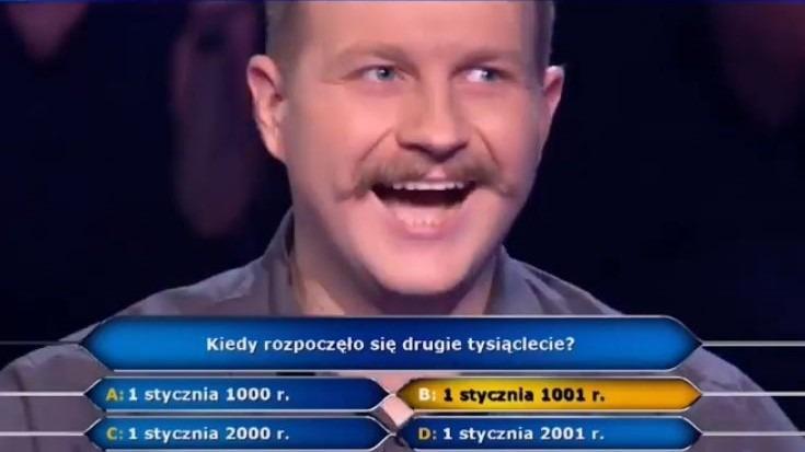Jacek Iwaszko wygrał w Milionerach
