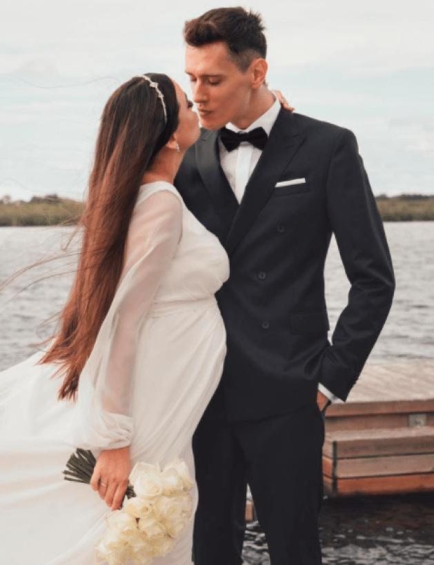 Olga Buława ślub